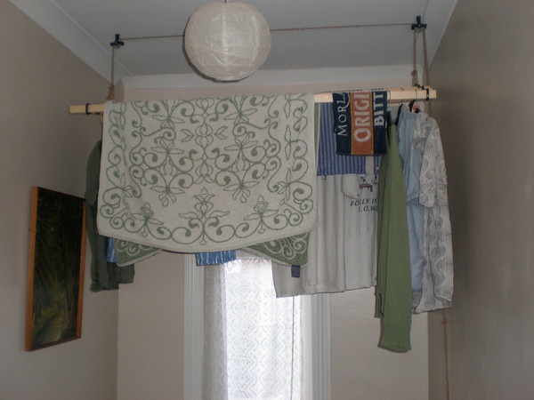 the ceiling clothes dryer experience. Black Bedroom Furniture Sets. Home Design Ideas
