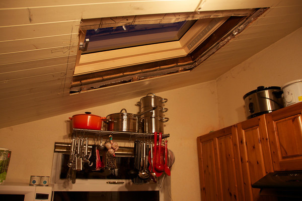 New Kitchen Roof Window