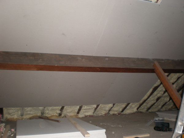 Plaster board covering